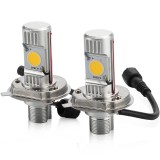 H4 25W LED Car Head Lamps