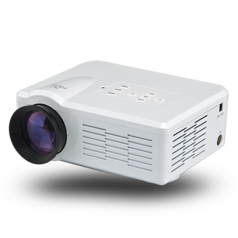 Mini led projector 1080p 3 5 inch lcd 80 lumen for Mini projector best buy