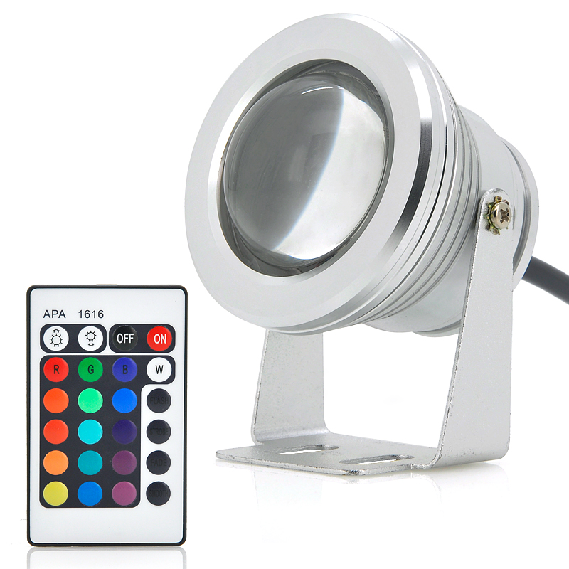 Led Flood Lights Product : W outdoor led flood light rgb color changing