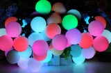 RGB Large LED String Ball Lights