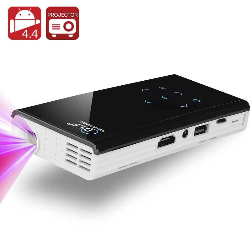 120 lumen mini android dlp projector quad core 1 4 ghz cpu