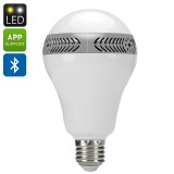 E27 LED Light Bulb + Speaker