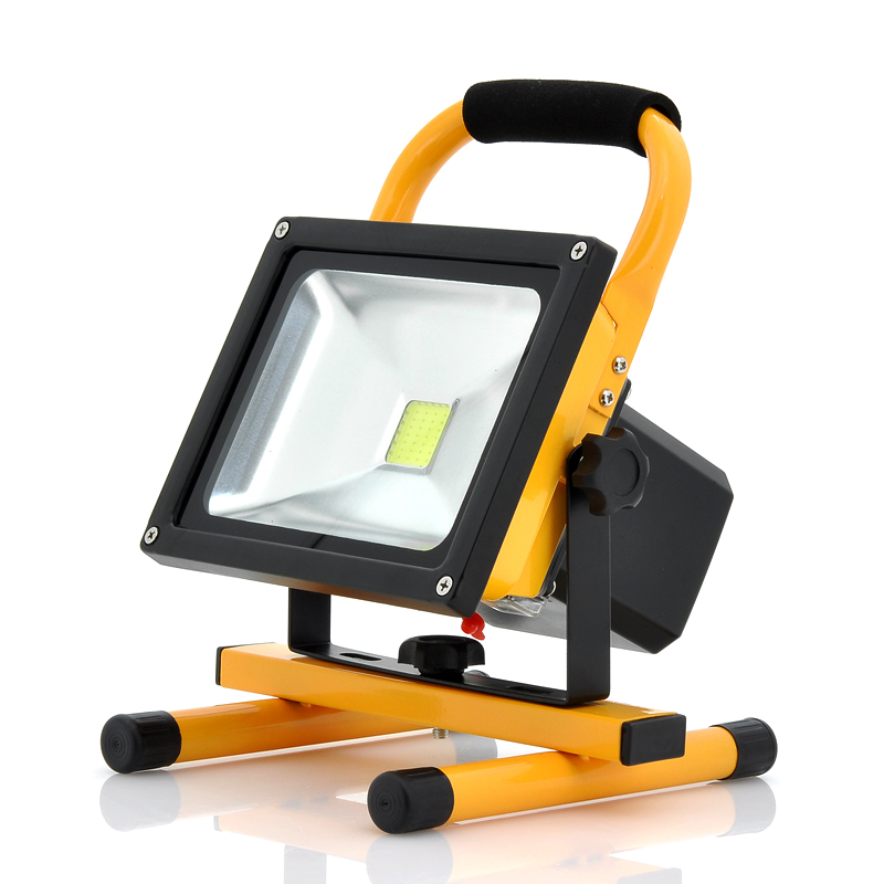 Outdoor Lights Portable: Portable Outdoor Flood Light + Camping Light