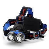 CREE XM-L 2x T6 LED Headlamp