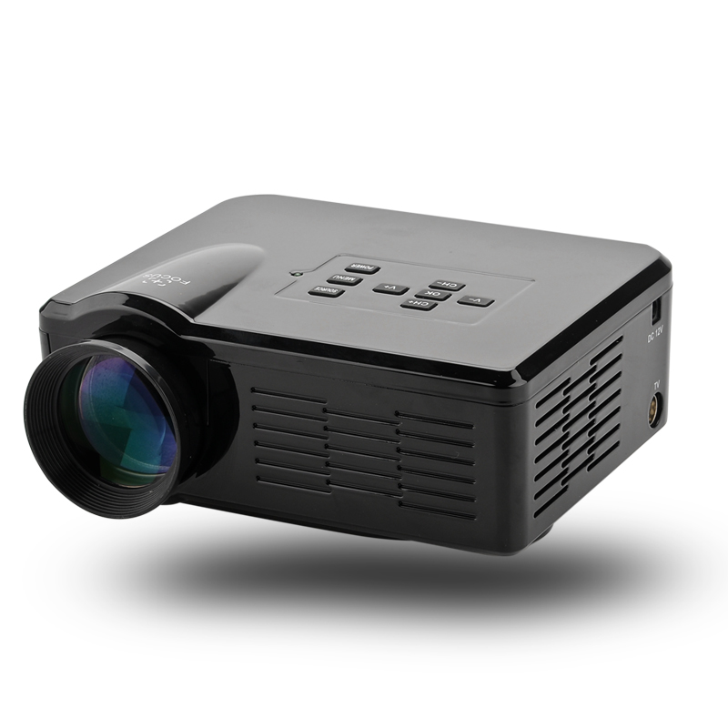 Mini led projector 3 5 inch lcd 80 lumen 1080p for Miniature projector