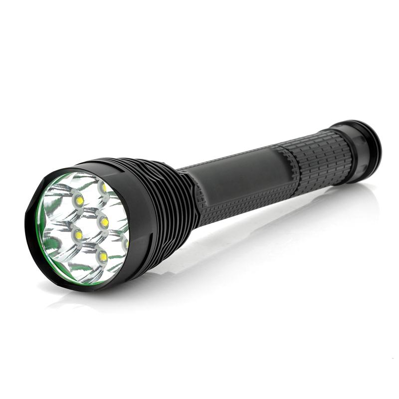 7x Cree XM-L T6 Flashlight