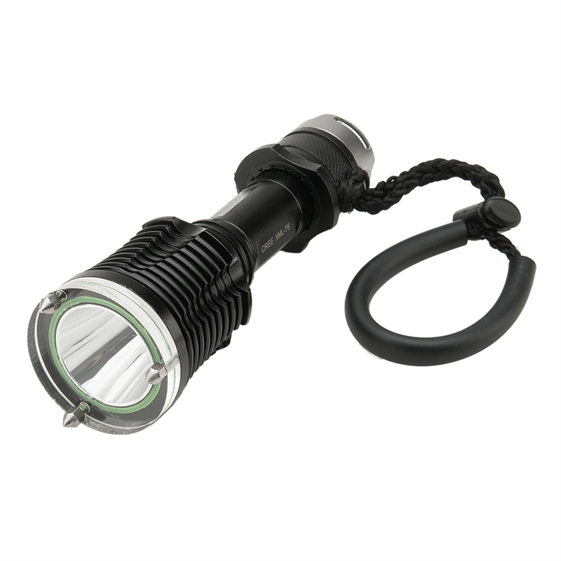 Cree xm-l t6 led diving flashlight torch 01net
