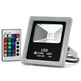 LED Flood Light 10W Multicolor with Remote