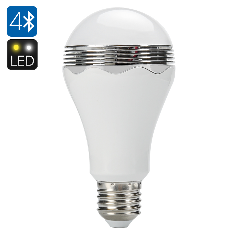 smart bluetooth led light bulb speaker e27 fitting